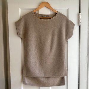 Athleta Short Sleeve Aster Tunic Sweater